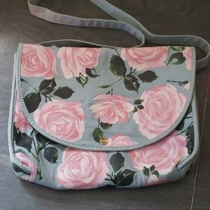 Bando floral laptop bag
